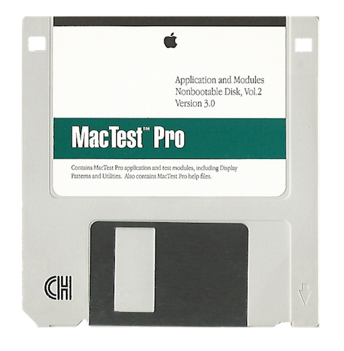 MacTest Pro, Application and Modules, Volume 2, Version 3.0