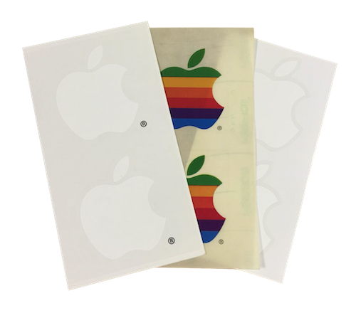 Apple Logo Decal Stickers