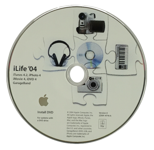 iLife '04 DVD