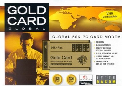 Psion Dacom Gold Card Global Modem