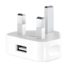Power Adapter, USB (iPod/iPhone), UK