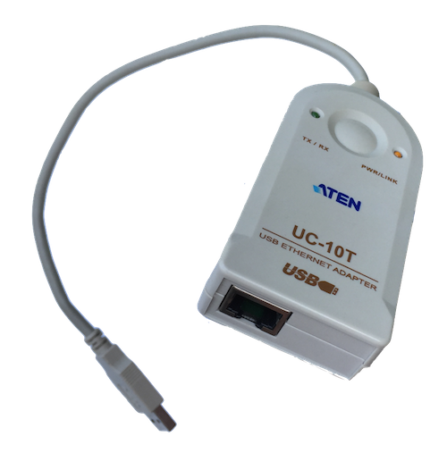 Adapter , USB Ethernet, Aten UC-10T