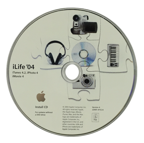 iLife '04 CD