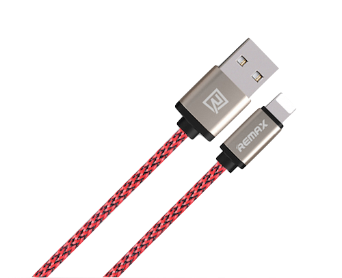 Cable, Lightning, Red, 1.0m
