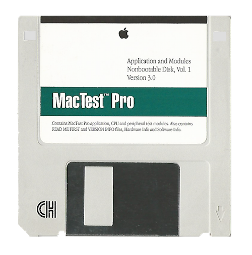 MacTest Pro, Application and Modules, Volume 1, Version 3.0