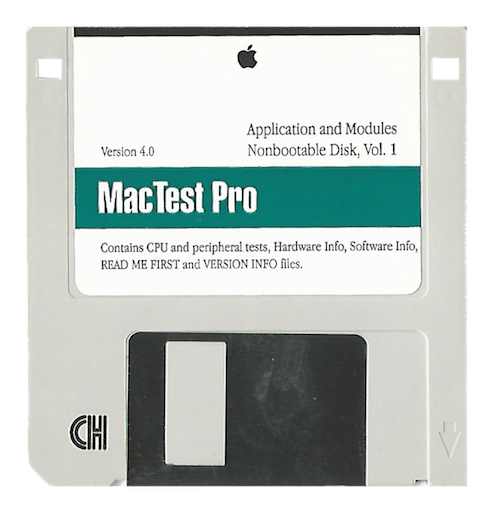 MacTest Pro, Application and Modules, Volume 1, Version 4.0