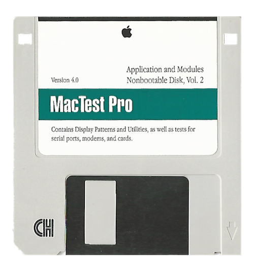 MacTest Pro, Application and Modules, Volume 2, Version 4.0